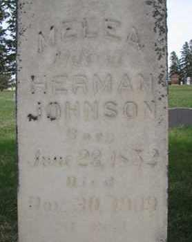 JOHNSON, MELEA (CLOSE UP) - Union County, South Dakota | MELEA (CLOSE UP) JOHNSON - South Dakota Gravestone Photos
