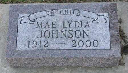 JOHNSON, MAE LYDIA - Union County, South Dakota | MAE LYDIA JOHNSON - South Dakota Gravestone Photos