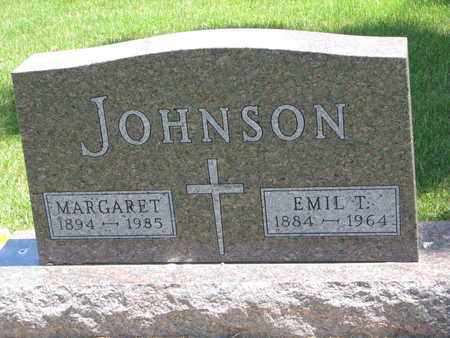 JOHNSON, EMIL T. - Union County, South Dakota   EMIL T. JOHNSON - South Dakota Gravestone Photos