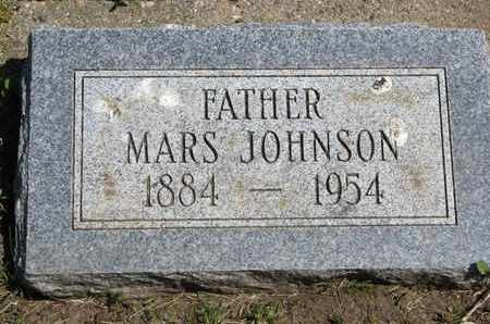 JOHNSON, MARS - Union County, South Dakota | MARS JOHNSON - South Dakota Gravestone Photos