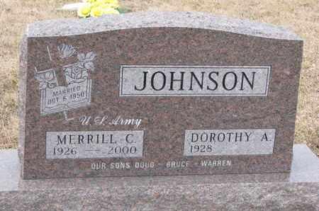 JOHNSON, DOROTHY A. - Union County, South Dakota | DOROTHY A. JOHNSON - South Dakota Gravestone Photos
