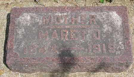 JOHNSON, MARET OLESDATTER - Union County, South Dakota | MARET OLESDATTER JOHNSON - South Dakota Gravestone Photos