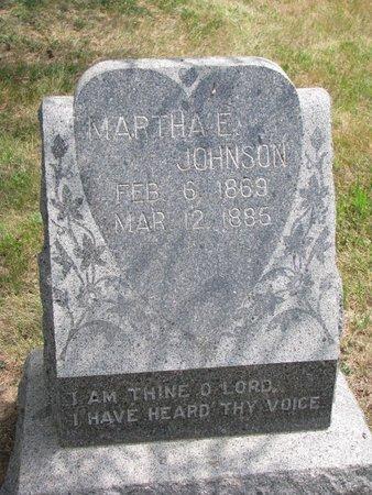JOHNSON, MARTHA E. - Union County, South Dakota | MARTHA E. JOHNSON - South Dakota Gravestone Photos