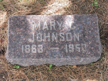 JOHNSON, MARY C. - Union County, South Dakota   MARY C. JOHNSON - South Dakota Gravestone Photos