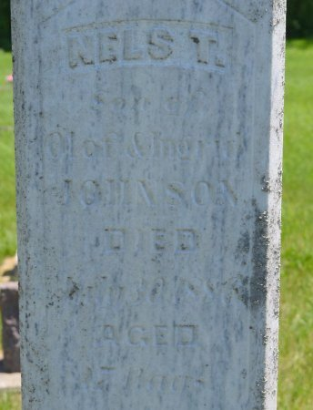 JOHNSON, NELS T. (CLOSE UP) - Union County, South Dakota | NELS T. (CLOSE UP) JOHNSON - South Dakota Gravestone Photos