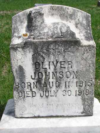 JOHNSON, OLIVER - Union County, South Dakota | OLIVER JOHNSON - South Dakota Gravestone Photos