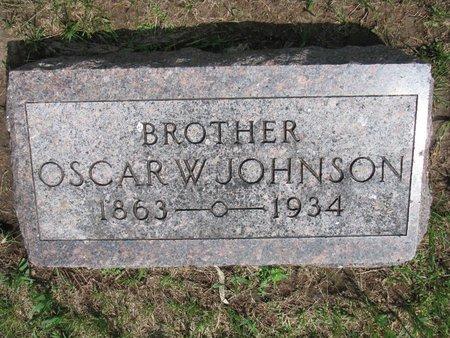 JOHNSON, OSCAR W. - Union County, South Dakota | OSCAR W. JOHNSON - South Dakota Gravestone Photos