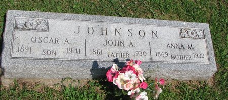 JOHNSON, JOHN A. - Union County, South Dakota | JOHN A. JOHNSON - South Dakota Gravestone Photos