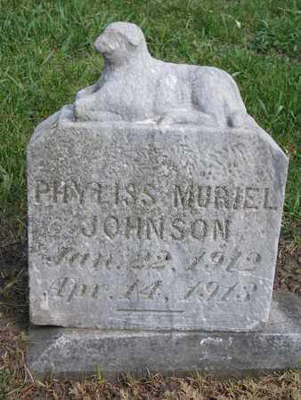 JOHNSON, PHYLISS MURIEL - Union County, South Dakota | PHYLISS MURIEL JOHNSON - South Dakota Gravestone Photos