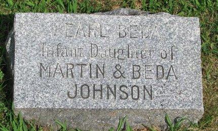JOHNSON, PEARL BEDA - Union County, South Dakota | PEARL BEDA JOHNSON - South Dakota Gravestone Photos