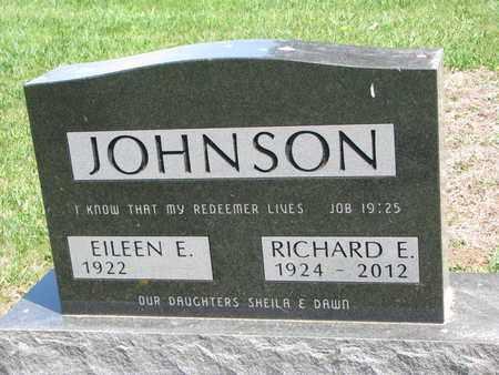 JOHNSON, RICHARD E. - Union County, South Dakota | RICHARD E. JOHNSON - South Dakota Gravestone Photos