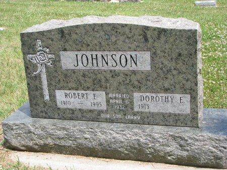 JOHNSON, ROBERT E - Union County, South Dakota | ROBERT E JOHNSON - South Dakota Gravestone Photos