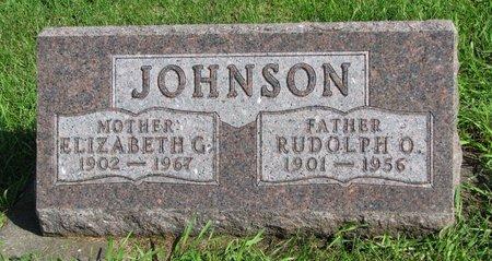 JOHNSON, RUDOLPH O. - Union County, South Dakota | RUDOLPH O. JOHNSON - South Dakota Gravestone Photos