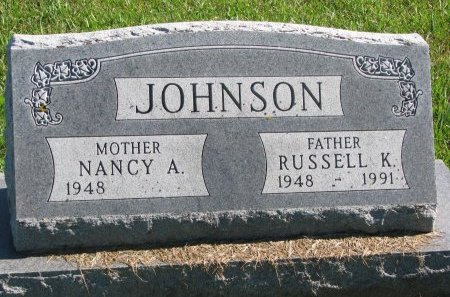 JOHNSON, RUSSELL K. - Union County, South Dakota | RUSSELL K. JOHNSON - South Dakota Gravestone Photos