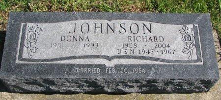 DUNCAN JOHNSON, DONNA LOU - Union County, South Dakota | DONNA LOU DUNCAN JOHNSON - South Dakota Gravestone Photos