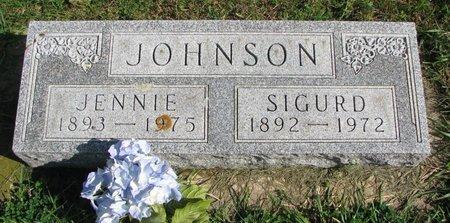 JOHNSON, JENNIE - Union County, South Dakota | JENNIE JOHNSON - South Dakota Gravestone Photos