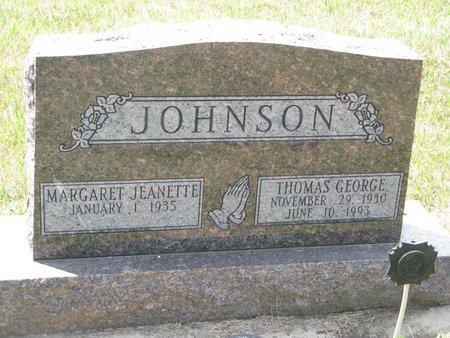 JOHNSON, THOMAS GEORGE - Union County, South Dakota | THOMAS GEORGE JOHNSON - South Dakota Gravestone Photos