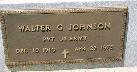 JOHNSON, WALTER G. (MILITARY) - Union County, South Dakota | WALTER G. (MILITARY) JOHNSON - South Dakota Gravestone Photos