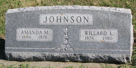 JOHNSON, WILLARD L. - Union County, South Dakota | WILLARD L. JOHNSON - South Dakota Gravestone Photos