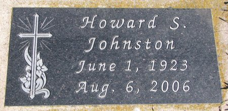 JOHNSTON, HOWARD S. - Union County, South Dakota | HOWARD S. JOHNSTON - South Dakota Gravestone Photos