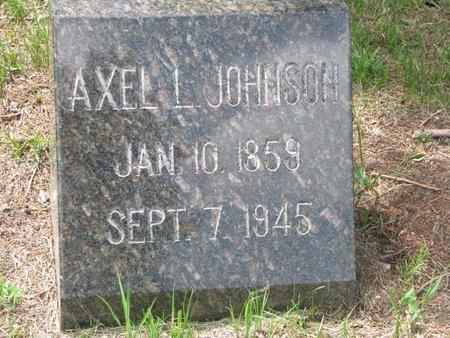 JOHNSON, AXEL L. - Union County, South Dakota | AXEL L. JOHNSON - South Dakota Gravestone Photos