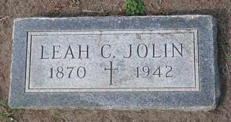 JOLIN, LEAH C. - Union County, South Dakota | LEAH C. JOLIN - South Dakota Gravestone Photos