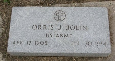 JOLIN, ORRIS JOSEPH (US ARMY) - Union County, South Dakota | ORRIS JOSEPH (US ARMY) JOLIN - South Dakota Gravestone Photos