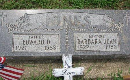 JONES, EDWARD D. - Union County, South Dakota | EDWARD D. JONES - South Dakota Gravestone Photos