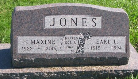 JONES, EARL L. - Union County, South Dakota | EARL L. JONES - South Dakota Gravestone Photos