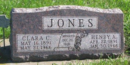 JONES, HENRY A. - Union County, South Dakota   HENRY A. JONES - South Dakota Gravestone Photos