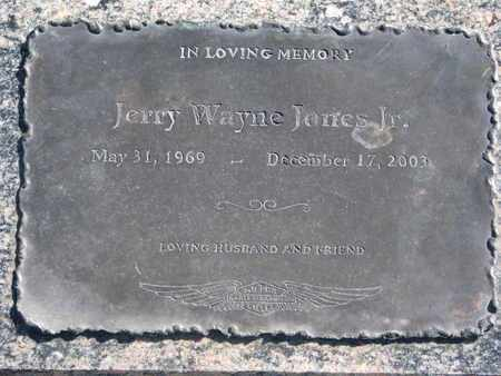 JONES, JERRY WAYNE JR. - Union County, South Dakota   JERRY WAYNE JR. JONES - South Dakota Gravestone Photos