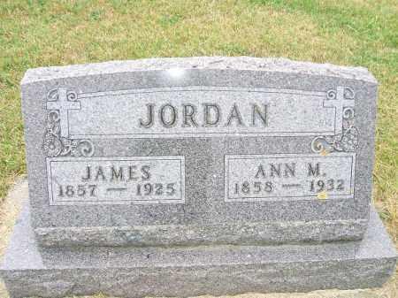 JORDAN, ANN M. - Union County, South Dakota | ANN M. JORDAN - South Dakota Gravestone Photos