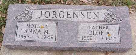 JORGENSEN, OLOF A - Union County, South Dakota   OLOF A JORGENSEN - South Dakota Gravestone Photos