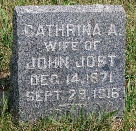 JOST, CATHRINA A. - Union County, South Dakota | CATHRINA A. JOST - South Dakota Gravestone Photos