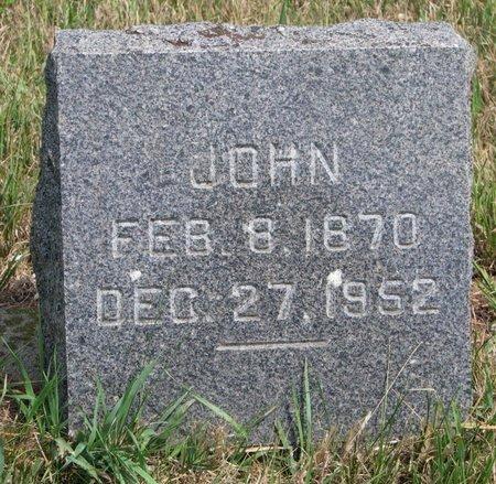 JOST, JOHN - Union County, South Dakota | JOHN JOST - South Dakota Gravestone Photos
