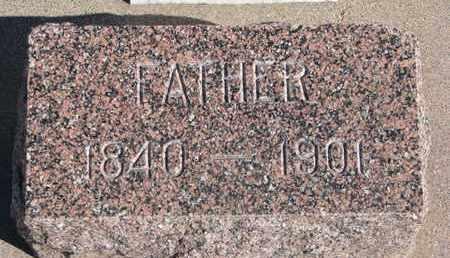 JOY, EDWIN (FOOTSTONE) - Union County, South Dakota   EDWIN (FOOTSTONE) JOY - South Dakota Gravestone Photos