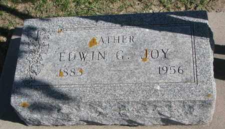 JOY, EDWIN G. - Union County, South Dakota | EDWIN G. JOY - South Dakota Gravestone Photos
