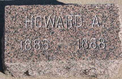 JOY, HOWARD A. - Union County, South Dakota | HOWARD A. JOY - South Dakota Gravestone Photos