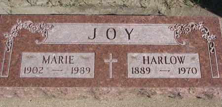 JOY, HARLOW - Union County, South Dakota   HARLOW JOY - South Dakota Gravestone Photos