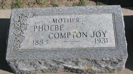 JOY, PHOEBE - Union County, South Dakota | PHOEBE JOY - South Dakota Gravestone Photos