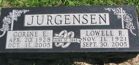 JURGENSEN, LOWELL RUSSELL - Union County, South Dakota | LOWELL RUSSELL JURGENSEN - South Dakota Gravestone Photos