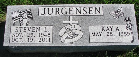 JURGENSEN, STEVEN L. - Union County, South Dakota | STEVEN L. JURGENSEN - South Dakota Gravestone Photos
