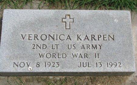 WEIR KARPEN, VIVIAN VERONICA (US ARMY-WORLD WAR II) - Union County, South Dakota | VIVIAN VERONICA (US ARMY-WORLD WAR II) WEIR KARPEN - South Dakota Gravestone Photos