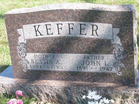 KEFFER, BESSIE A. (#1) - Union County, South Dakota | BESSIE A. (#1) KEFFER - South Dakota Gravestone Photos