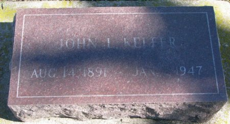 KEFFER, JOHN L. (#2) - Union County, South Dakota | JOHN L. (#2) KEFFER - South Dakota Gravestone Photos