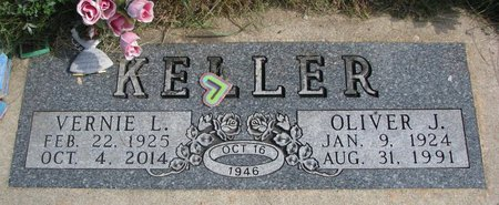 KELLER, OLIVER J. - Union County, South Dakota | OLIVER J. KELLER - South Dakota Gravestone Photos