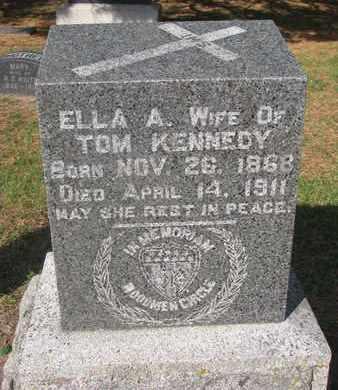 KENNEDY, ELLA A. - Union County, South Dakota   ELLA A. KENNEDY - South Dakota Gravestone Photos