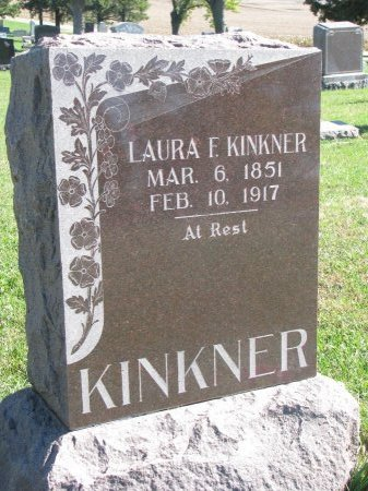 PARKER KINKNER, LAURA F. - Union County, South Dakota | LAURA F. PARKER KINKNER - South Dakota Gravestone Photos