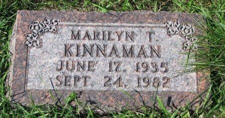 KINNAMAN, MARILYN T. - Union County, South Dakota | MARILYN T. KINNAMAN - South Dakota Gravestone Photos