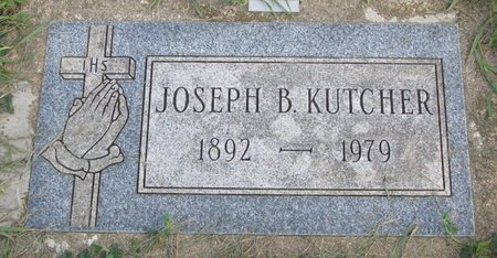 KUTCHER, JOSEPH B. - Union County, South Dakota | JOSEPH B. KUTCHER - South Dakota Gravestone Photos